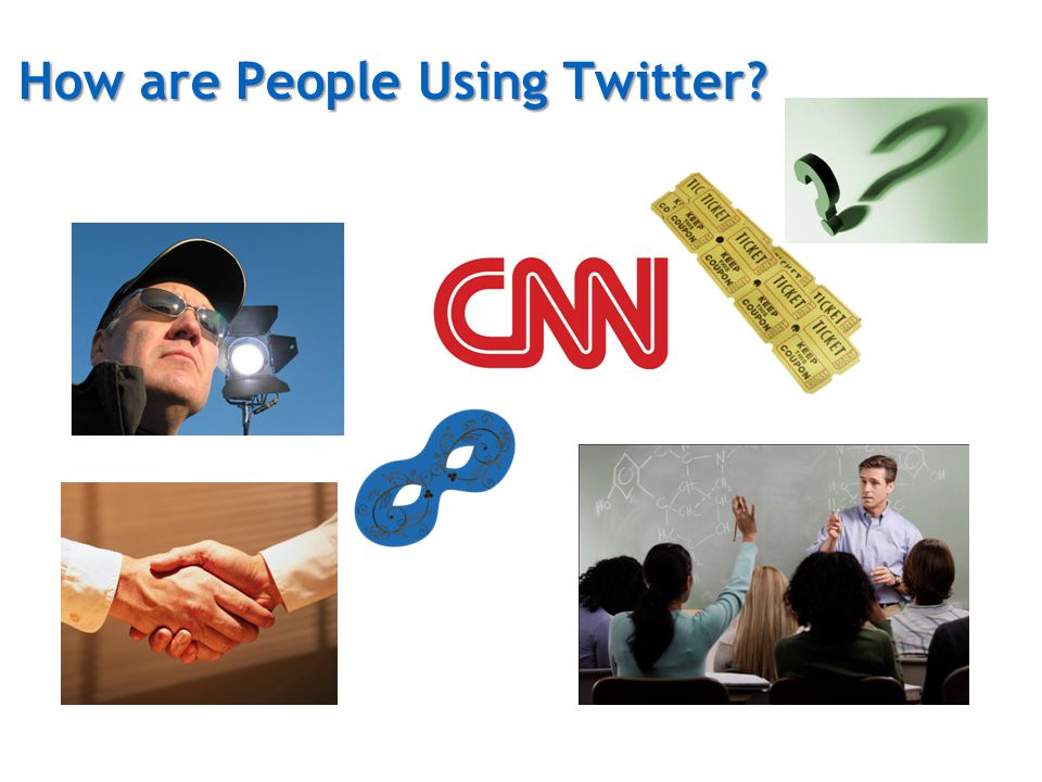 How are People Using Twitter?