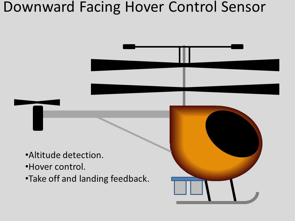 Downward Facing Hover Control Sensor Altitude detection.