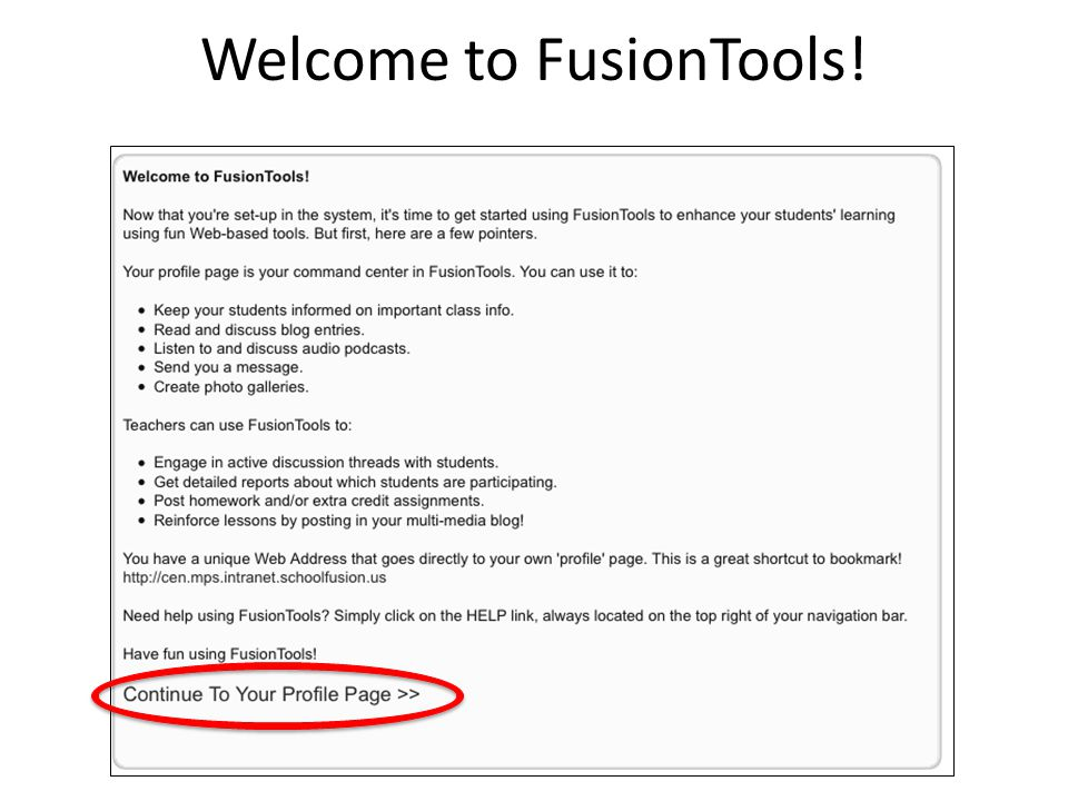 Welcome to FusionTools!