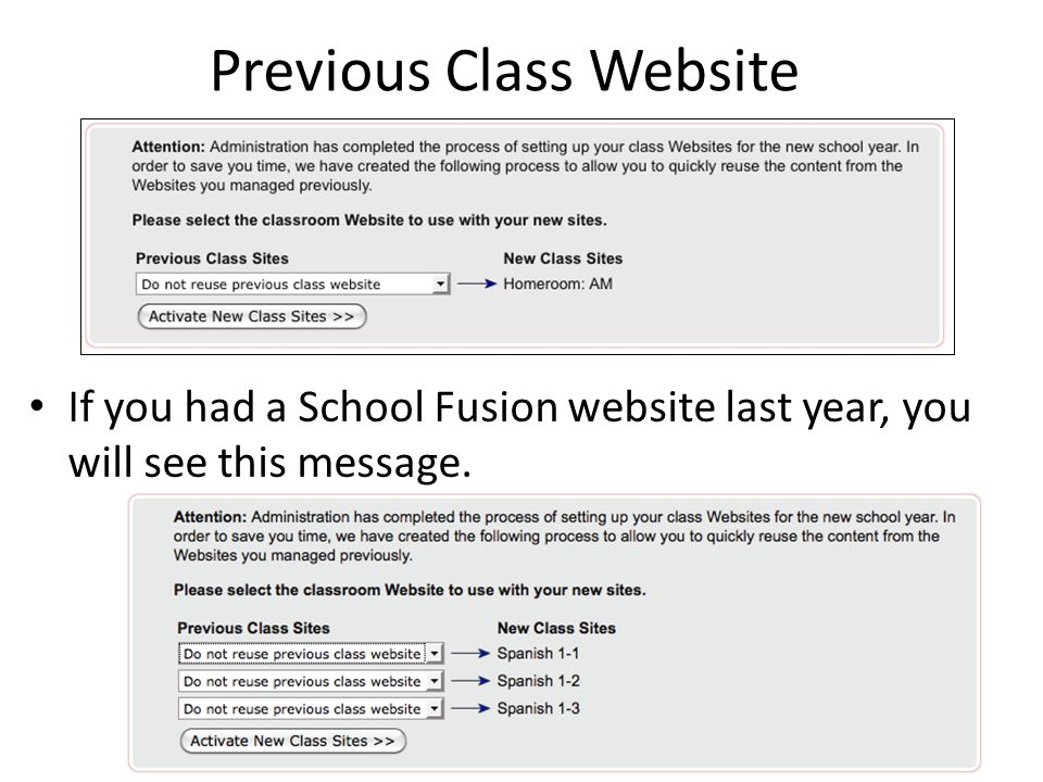 My Calendar: iCal Feed If you are interested in subscribing to your personal School Fusion Calendar feed, you can Activate it, then copy and paste the URL into your iCal, Google Calendar, or Outlook Calendar.