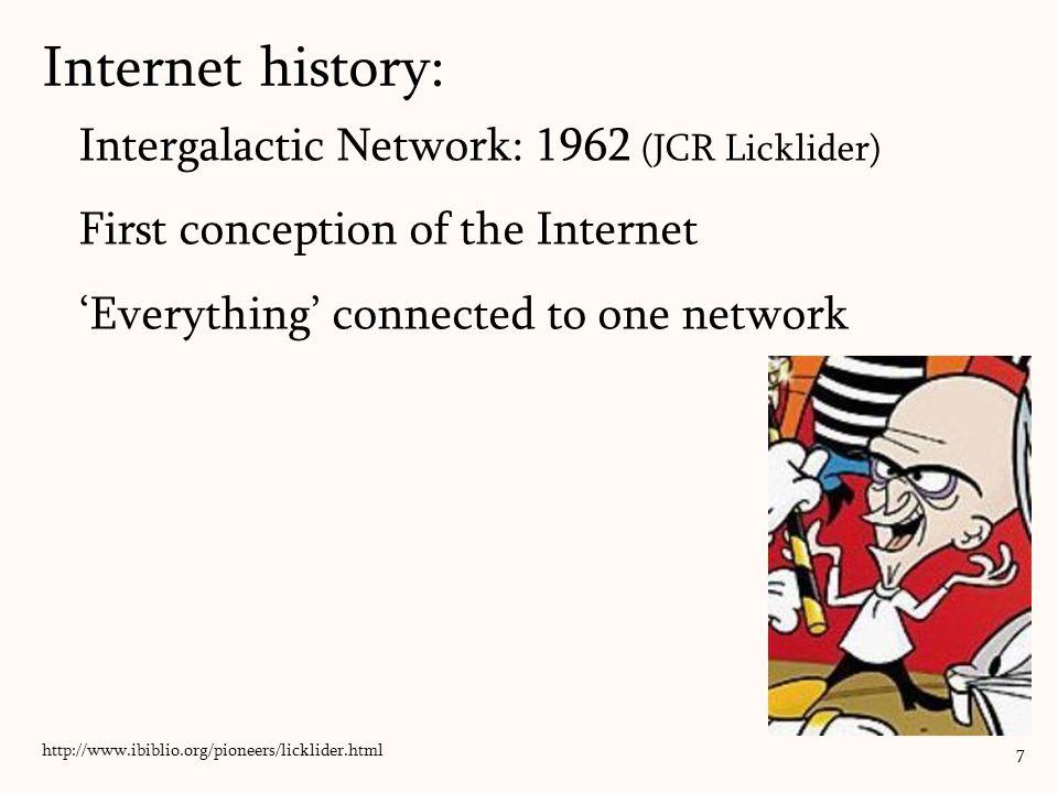 Project Xanadu: 1960 Ted Nelson (1937 – ?) 'hypertext' and 'hypermedia' (c.