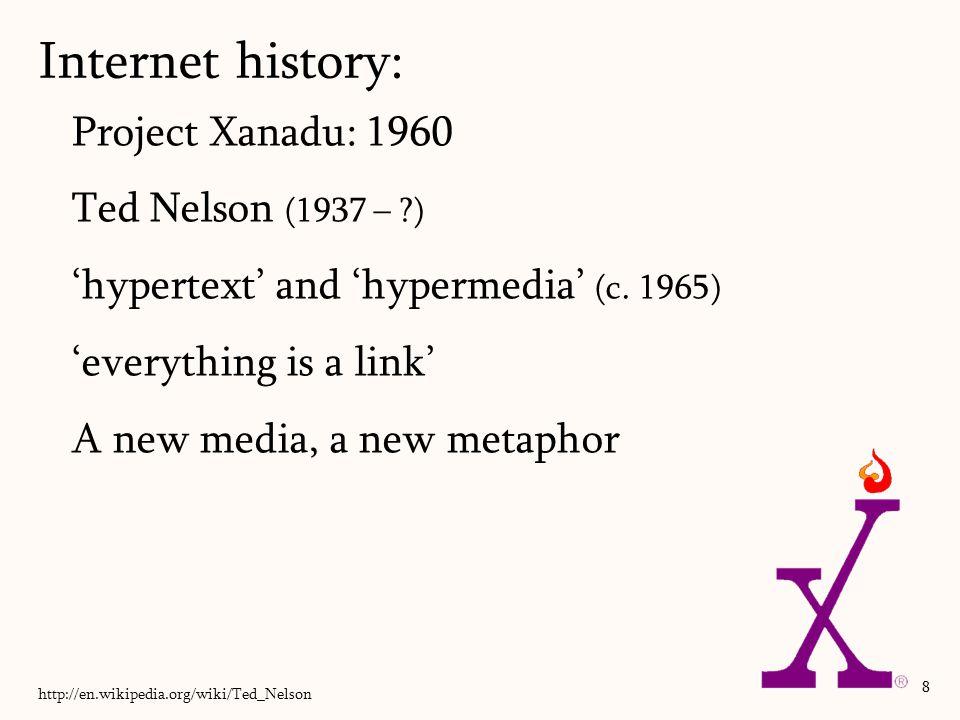 Start of Web 1.0: read-only Internet Mosaic Communications Corp.