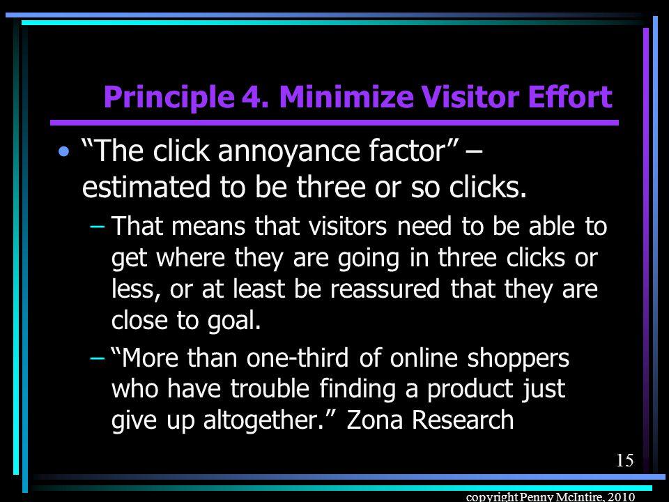 14 copyright Penny McIntire, 2010 Principle 3.