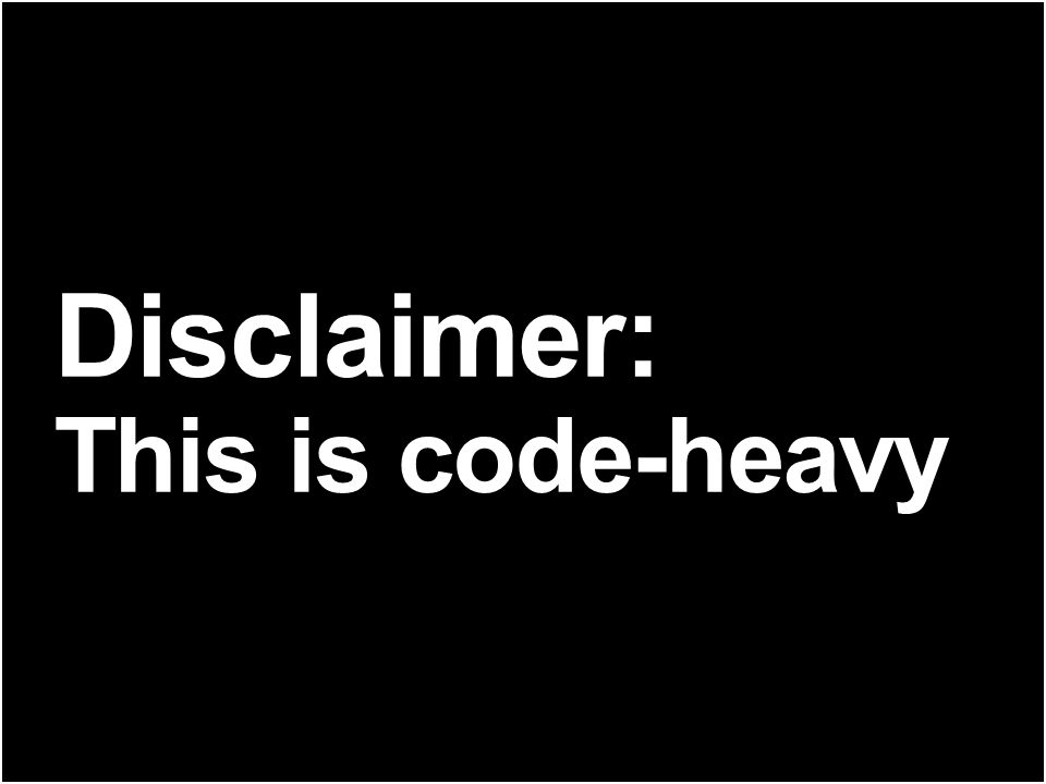 Disclaimer: This is code-heavy THE FOLLOWING IS INTENDED TO STIMULATE CREATIVE USE OF JVM LANGUAGES.