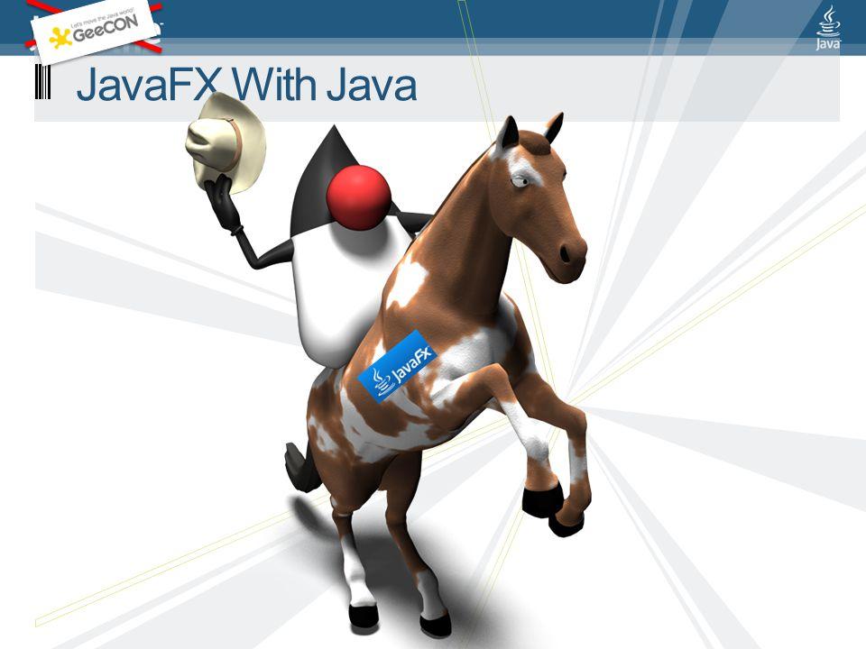 JavaFX With Java