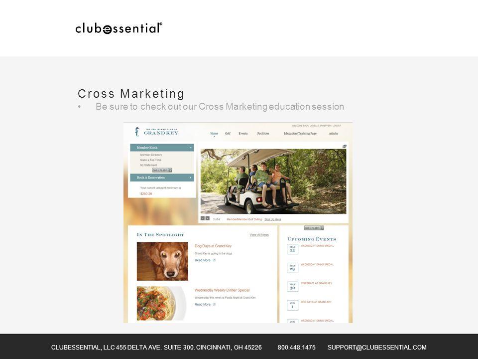CLUBESSENTIAL, LLC 455 DELTA AVE.SUITE 300.
