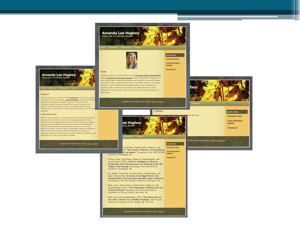 Examples CSS navigation menu http://www.webcredible.co.uk/user-friendly- resources/css/css-navigation-menu.shtml