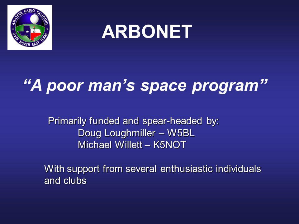 ARBONET SSTV Activity ARBONET