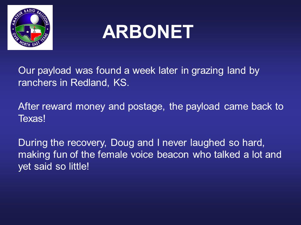 ARBONET The new voice beacon main board: