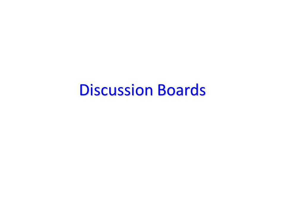 The Discussion Boards are available for all GCU users to post announcements, dialog, and discuss different topics.