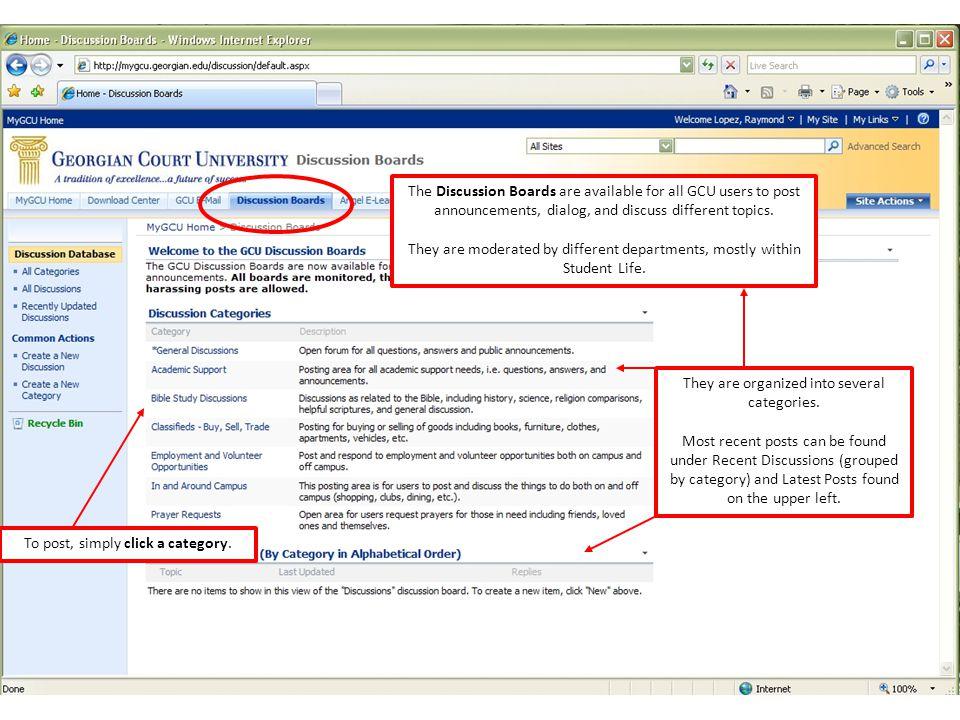 Click Add new discussion.