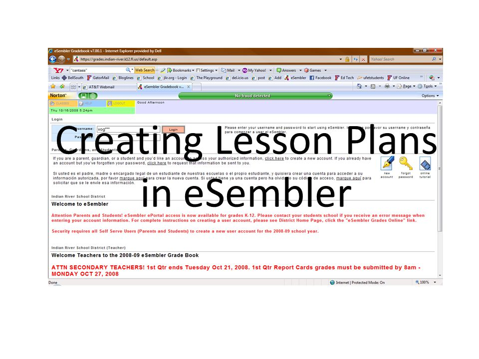 Exporting Your Lessons for Review by Administration & Department Chairs 1.Right-click anywhere in the Explorer Window.