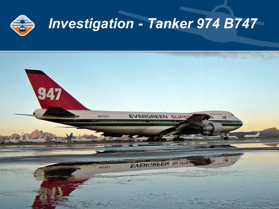 Investigation - Tanker 974 B747