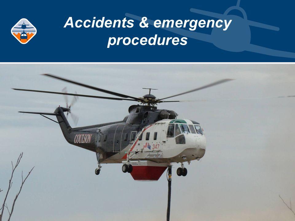 Accidents & emergency procedures