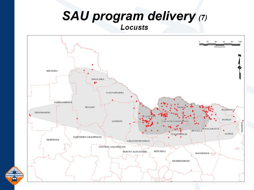 SAU program delivery (7) Locusts