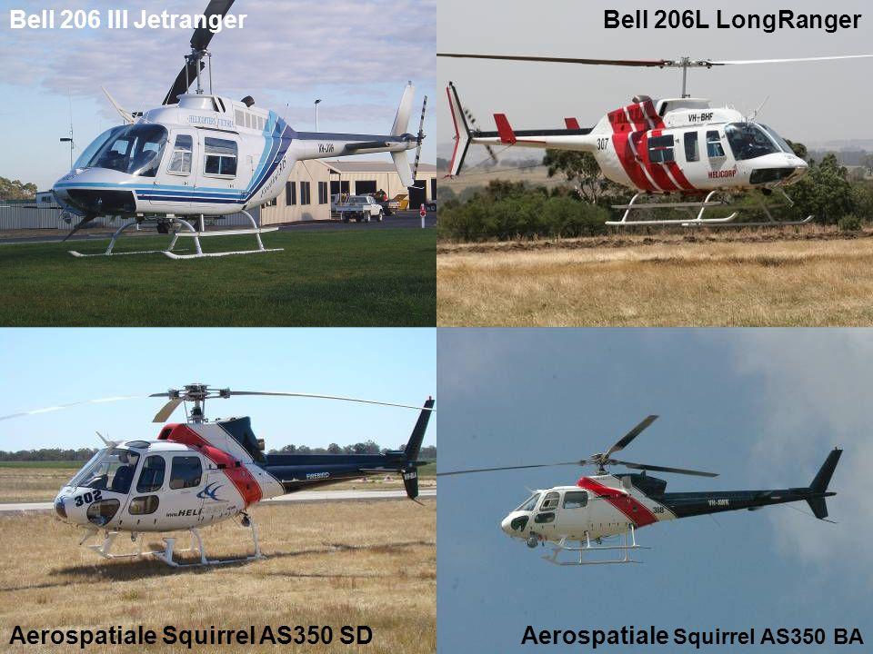 Bell 206 III JetrangerBell 206L LongRanger Aerospatiale Squirrel AS350 BA Aerospatiale Squirrel AS350 SD