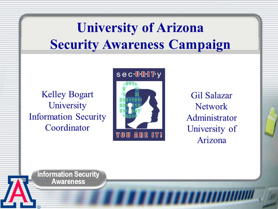 Information Security Awareness 32 Do The Math Spam mailed to over 100 million inboxes If 10% read the mail and clicked the link = 10 million people If 1% of people who went to site signed up for 3-days free trial = (100,000 people) x ($0.50) = $50,000 If 1% of free trials sign up for 1 year = (1,000 people) x ($144/yr) = $144,000/yr