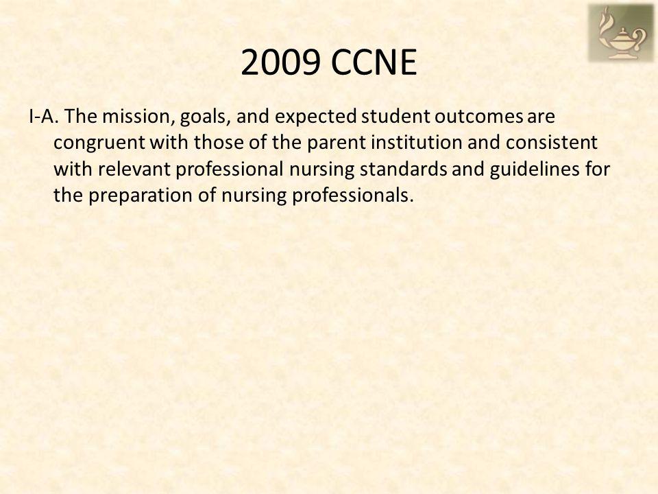 2009 CCNE I-A.