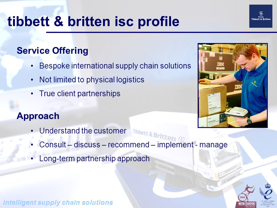 intelligent supply chain solutions Intellect what's different about isc.