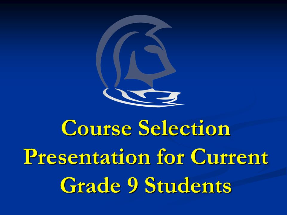 Course Selection Process Step 1 Check OSSD requirements by referring to your Status Sheet.