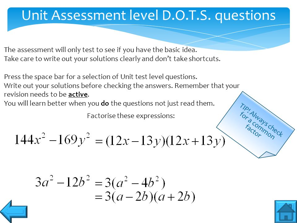 What can I expect in the unit test.