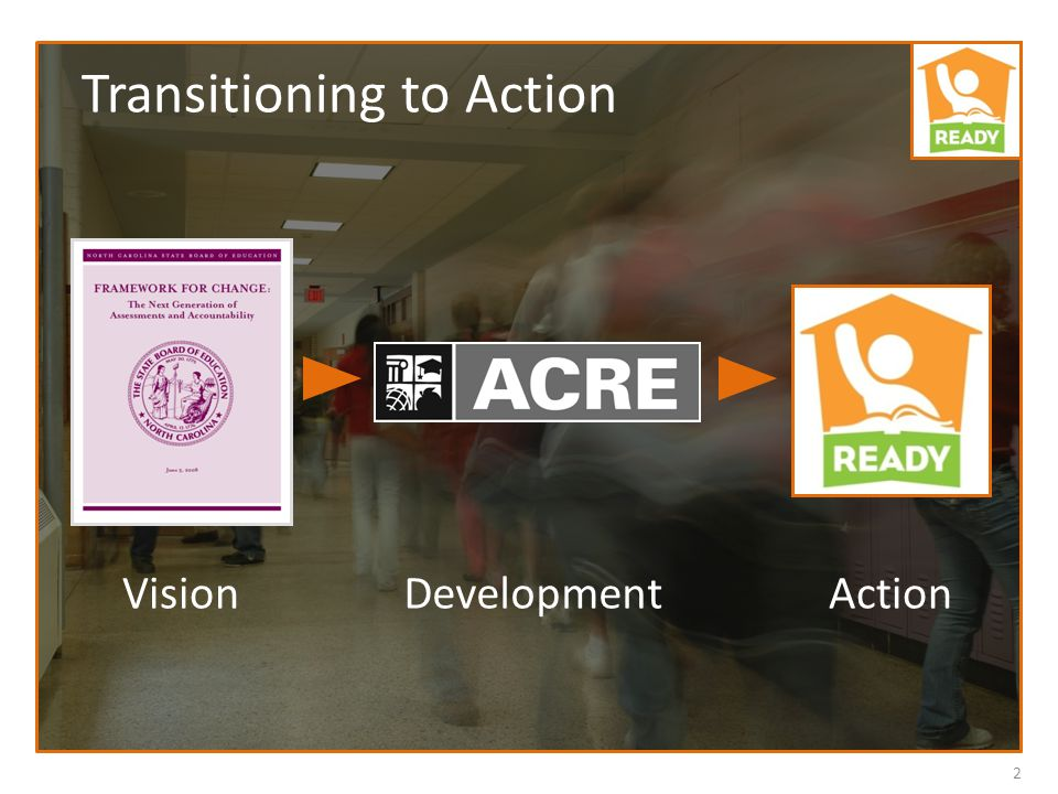 2 VisionDevelopmentAction Transitioning to Action