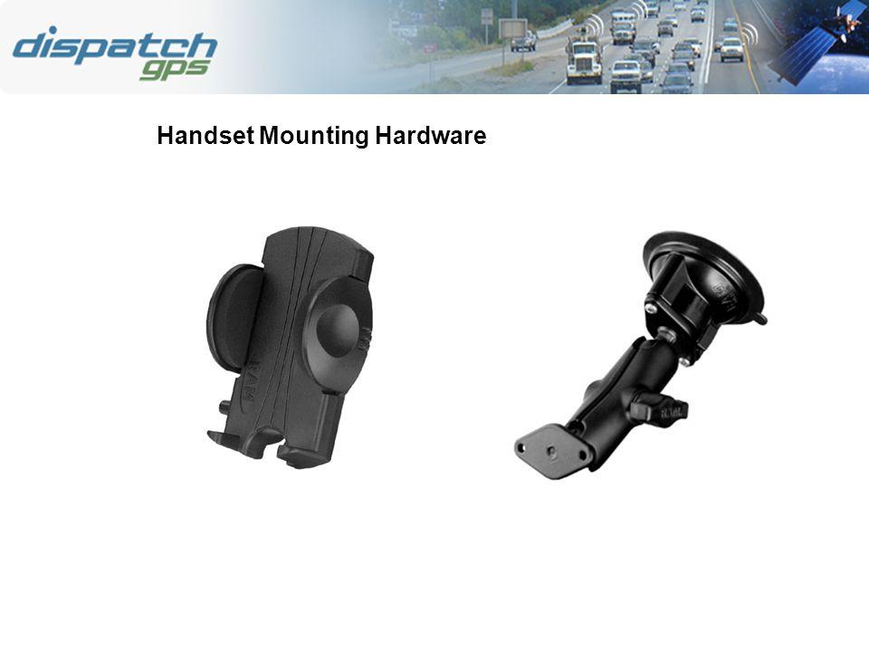 Handset Mounting Hardware