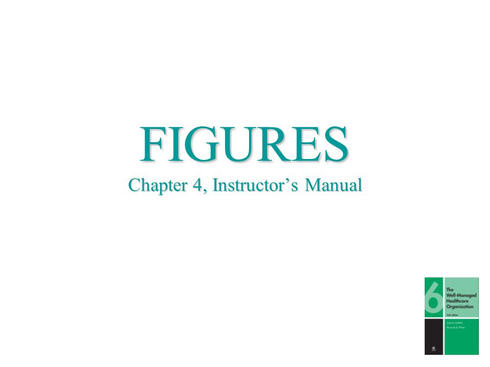 FIGURES Chapter 4, Instructor's Manual