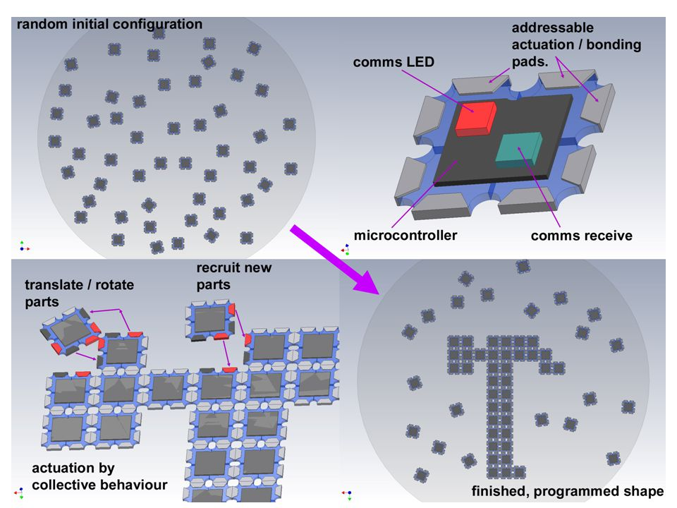 Computational Using lateral capillary forces to compute by self- assembly., Paul W.K.