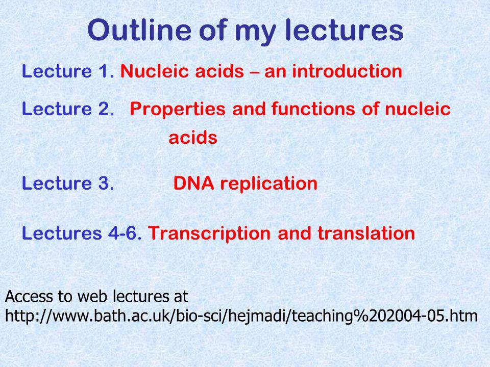Timeline 1800's F Miescher - nucleic acids 1928 F.