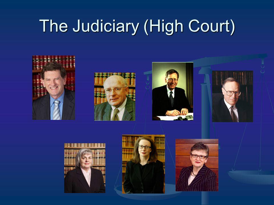 The Judiciary (High Court)