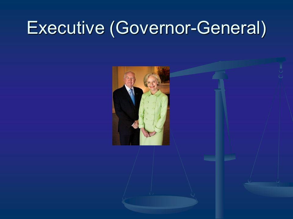 Executive (Governor-General)