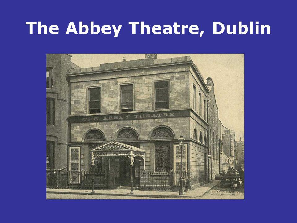 The Abbey Theatre, Dublin