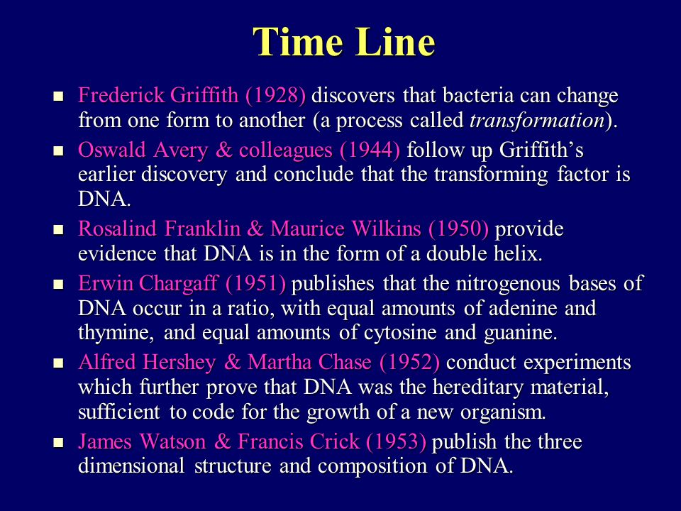 Alfred Hershey & Martha Chase Even after Avery's experiments, scientists were still skeptical about the possibility that DNA was the stuff of heredity. Even after Avery's experiments, scientists were still skeptical about the possibility that DNA was the stuff of heredity. In 1952, Alfred Hershey & Martha Chase performed an elegant series of experiments which proved that DNA was the genetic material – using a household blender.