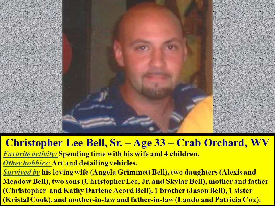 Christopher Lee Bell, Sr.