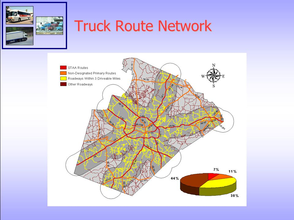 Truck Route Network