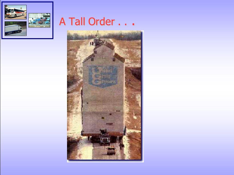 A Tall Order...