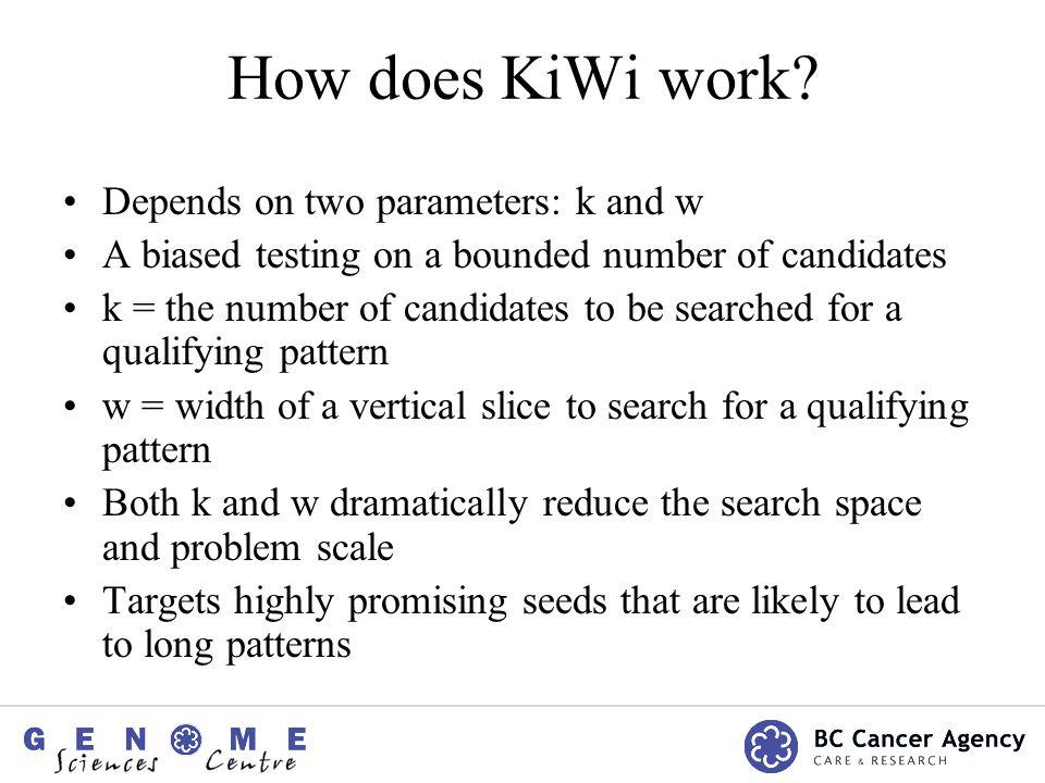 How does KiWi work.