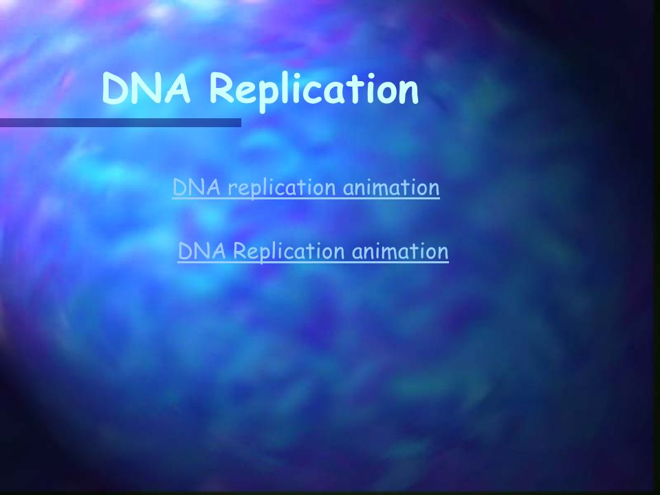 How DNA Replicates Start with a double strand of DNAStart with a double strand of DNA DNA replication is carried out by a series of enzymes.