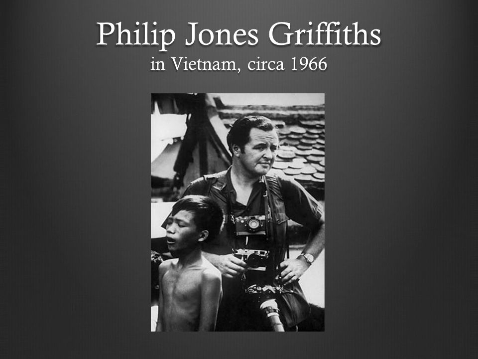 Philip Jones Griffiths in Vietnam, circa 1966