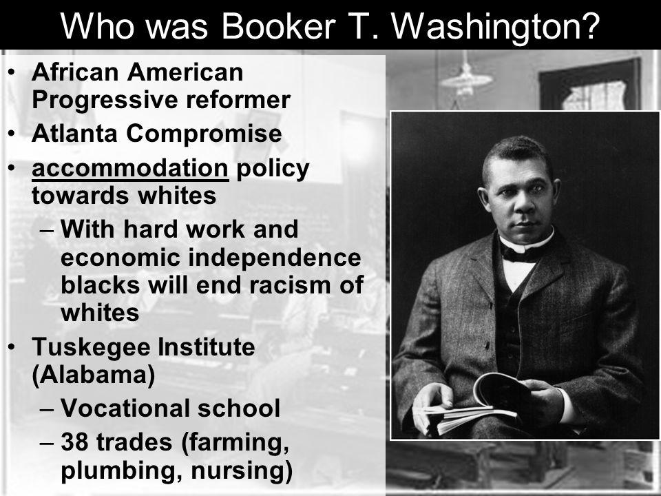 Who was Booker T.Washington.