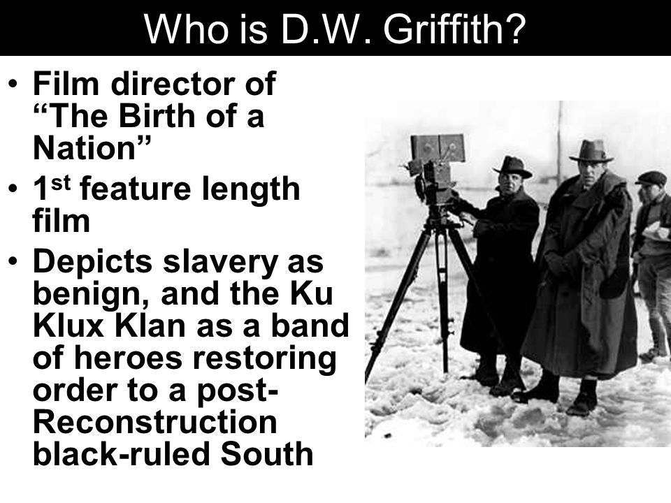 Who is D.W.Griffith.
