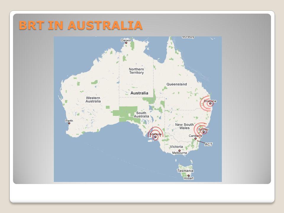 BRT IN AUSTRALIA
