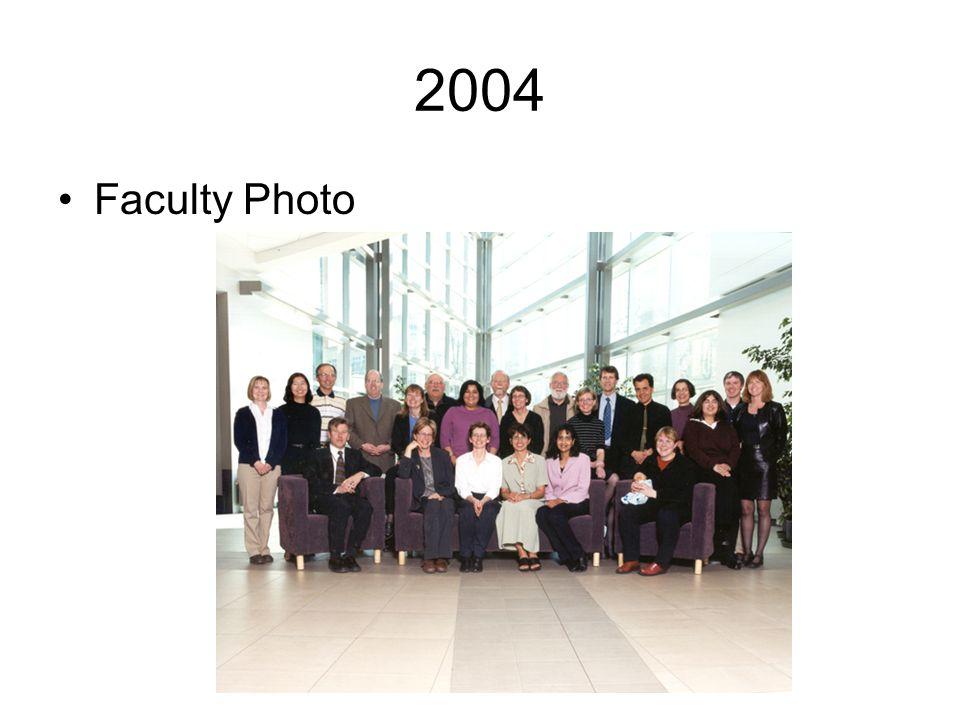 2004 Faculty Photo