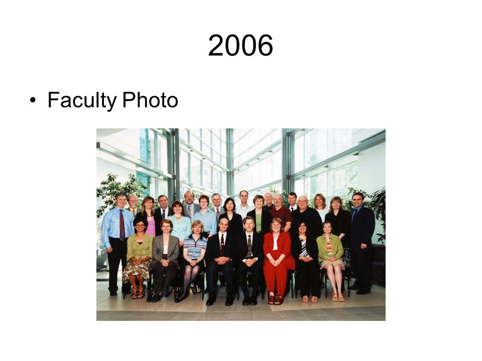 2006 Faculty Photo