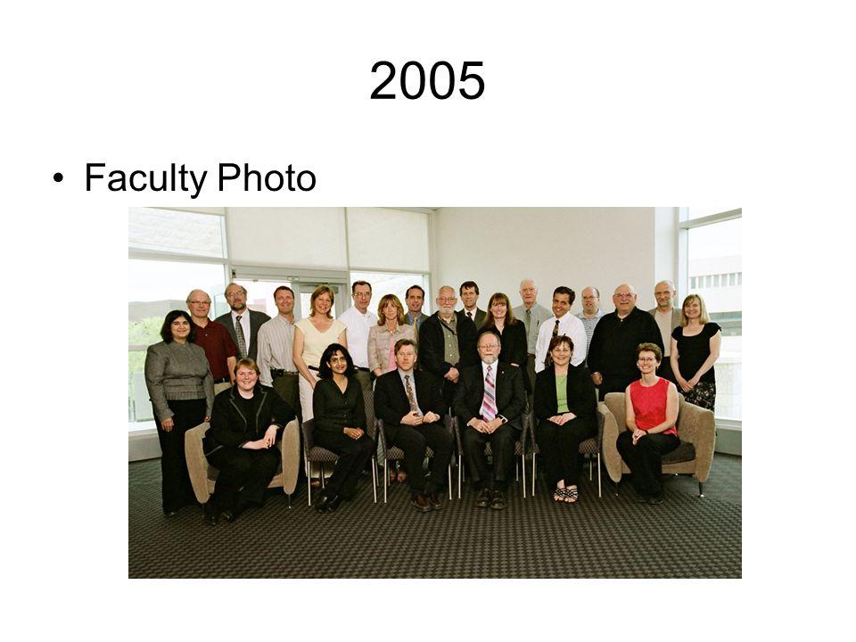 2005 Faculty Photo