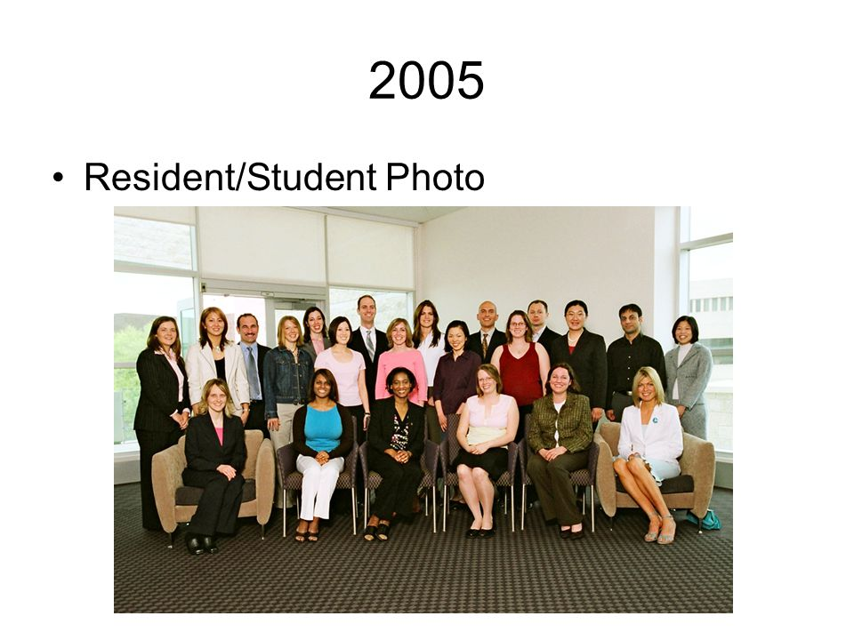 2005 Resident/Student Photo