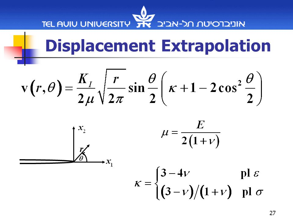 27 Displacement Extrapolation