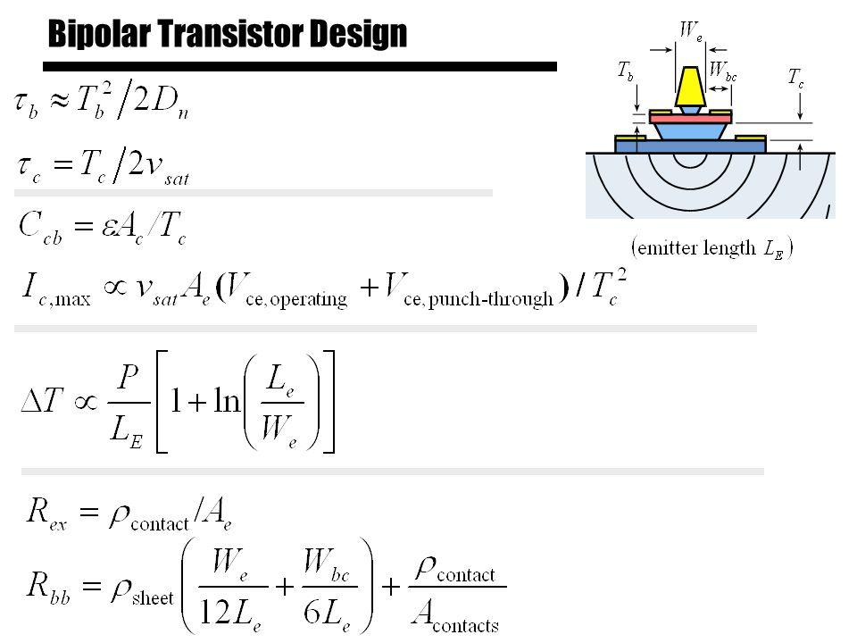 Bipolar Transistor Design
