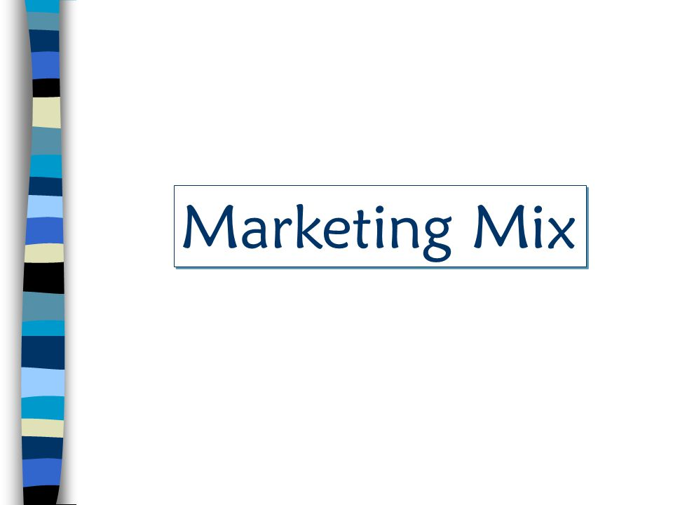 Product Price Place Promotion Consumers Marketing Mix